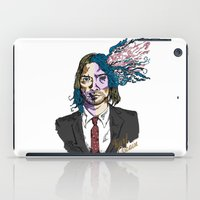 kurt cobain iPad Cases featuring Kurt Gore Cobain by Alexalco5