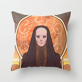 Reverend Mother Throw Pillow