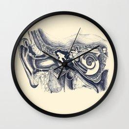 Inner ear anatomy Wall Clock