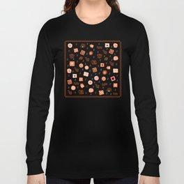 Ethnic Mosaic Long Sleeve T-shirt