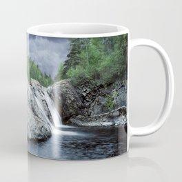 Falls at the Aguasabon River Mouth in Ontario Canada Coffee Mug