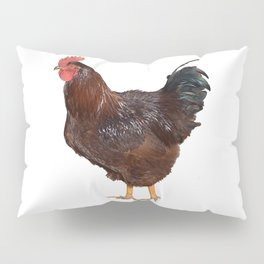 red rooster Pillow Sham