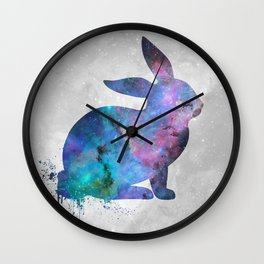 Galaxy Series (Rabbit) Wall Clock