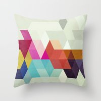 new order Throw Pillows featuring New Order by Three of the Possessed