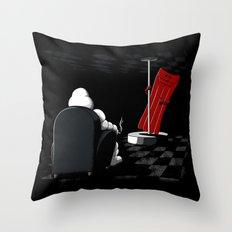Michelin Striptease Throw Pillow