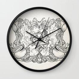 The Flying Sabbath Wall Clock
