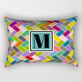 M Monogram Rectangular Pillow