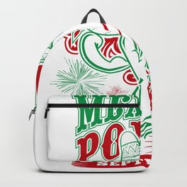 Mexican Power Color Backpack