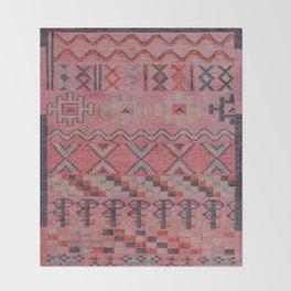 V21 New Traditional Moroccan Design Carpet Mock up. Throw Blanket