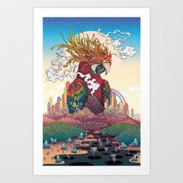 Borderlands Art Print