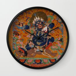 Yamantaka, Destroyer of the God of Death Wall Clock