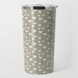 Pitcher Plant Taupe Travel Mug