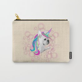 French Bulldog Unicorn Carry-All Pouch