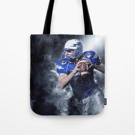 Football Fight Night Tote Bag