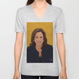 Senator Kamala Harris, Democratic candidate for President 2020 Unisex V-Neck