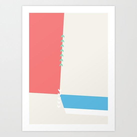 Slice Dice 04 Art Print