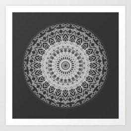 Mandala blast Art Print