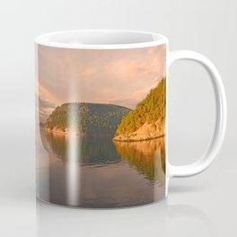 NOVEMBER SUNSET IN THE SAN JUAN ISLANDS Coffee Mug