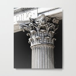 Classic architectural column Metal Print
