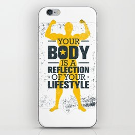 Your Body Quote iPhone Skin