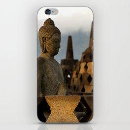 Buddha & Stupa iPhone Skin