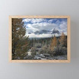 Fall in Canmore - Canada  Framed Mini Art Print