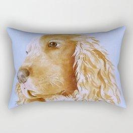 Best Bud Cocker Spaniel Rectangular Pillow