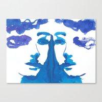 mirror Canvas Prints featuring mirror by Zsofi Porkolab