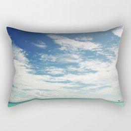 The Sea and The Sky Rectangular Pillow