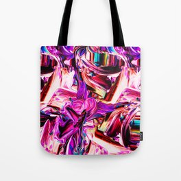 Colorful Abstract Liquid Paint IV Tote Bag