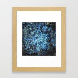 MIDNIGHT SPARKLES Framed Art Print