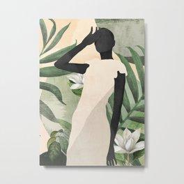 Tropical Girl 20 Metal Print