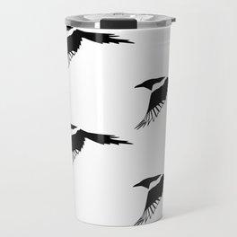 Pica Pica (magpie) many Galery Giftshop Travel Mug