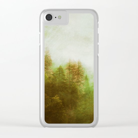 Dreamy Summer Forest Clear iPhone Case
