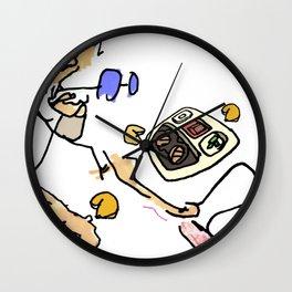 Greasy Sundays Wall Clock