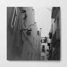 The Streets of Italy Metal Print