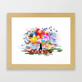 Frühlingstraum Framed Art Print