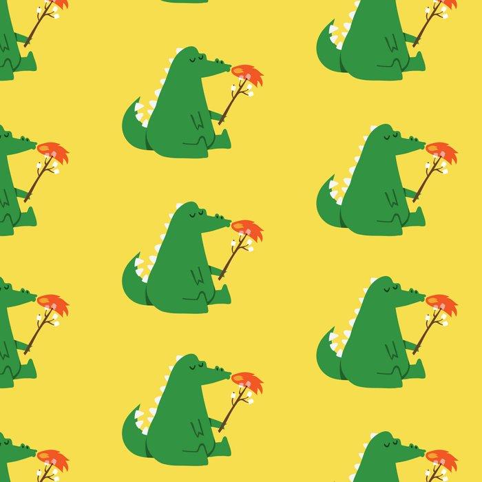 Dragon and Marshmallow Leggings