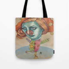 JUGGLING CLOWN Tote Bag