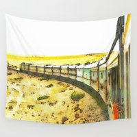 train Wall Tapestries featuring Train by Mr and Mrs Quirynen