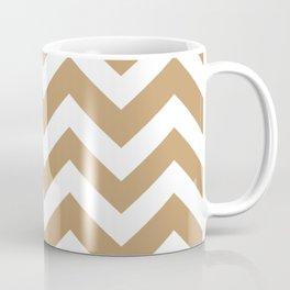 Fallow - brown - Zigzag Chevron Pattern Coffee Mug