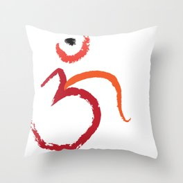 Om To Guide Your Way Throw Pillow