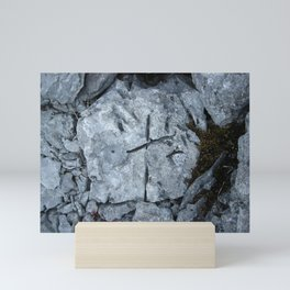 The limestone cross Mini Art Print