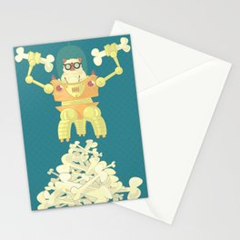 Pug Robopuppy Stationery Cards