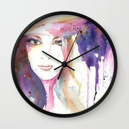 Girl ASD 03 Wall Clock