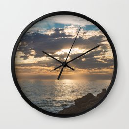 point dume Wall Clock