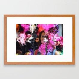 Mardi Gras Everyday Framed Art Print