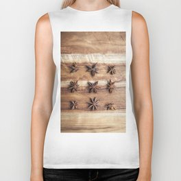 Stars and Stripes of Baking - Star Anise Biker Tank
