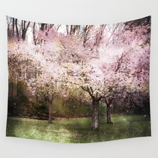 Spring Whispered Softly Wall Tapestry