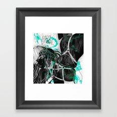 SCORPIO:REPLICANT Framed Art Print